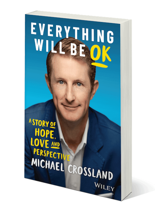 photo of cover for Michael Crossland's book, Everything Will Be Ok